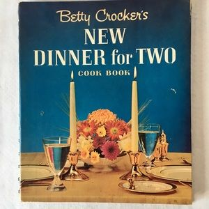Vintage Betty Crockers Dinner For Two